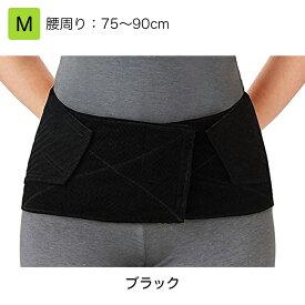 竹虎 腰部ベルト ランバックスリム  M ブラック 品番:033973 腰部サポーター 腰痛ベルト 腰用サポーター 腰部固定帯