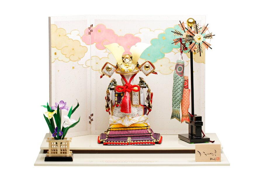奉納鎧 航 H5-HY-0003-06P【新作】【五月人形 コンパクト】 【五月人形 鎧飾り】 【5月人形】【人気】【小さい】【送料無料】奉納鎧