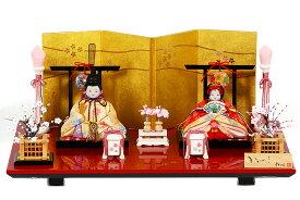 雛人形 木目込み 人気 かわいい おしゃれ ひな人形 人気 ひな人形 - 光 - ひかり 親王飾り H3-11SN-006