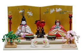 雛人形 木目込み 人気 かわいい おしゃれ ひな人形 誉 - ほまれ - 親王飾り H3-11SN-027A