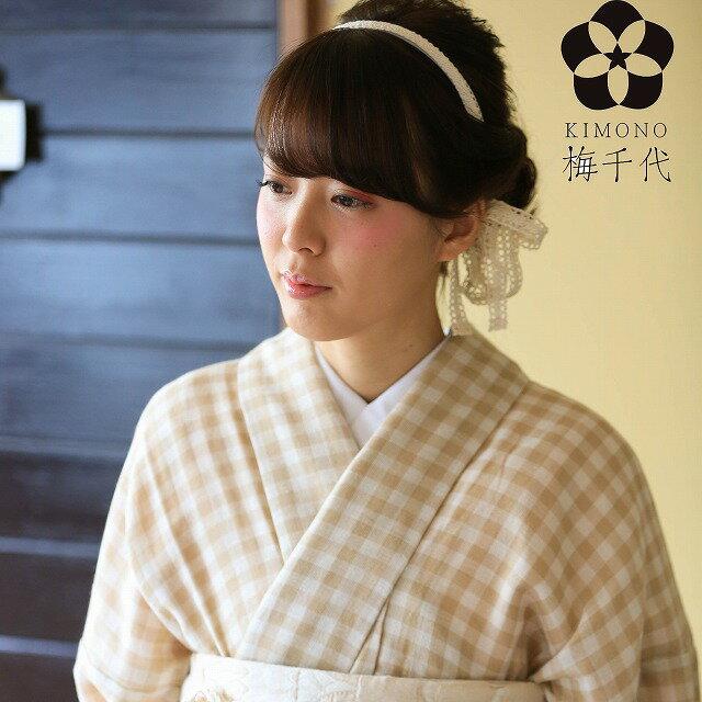 Wガーゼ着物 KIMONO オリジナル商品 【sweet】u0001-kim【梅得】【S】