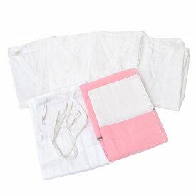 【中古】 リサイクル着物 着付け小物 セット 肌襦袢 裾除け M 化繊 綿 レディース 和装小物 女性 kkb0513b 【着物ひととき】