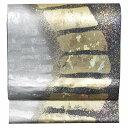 袋帯 リサイクル 帯 中古 リサイクル帯 正絹 結婚式 ふくろおび 仕立て上がり 美品 幾何学文様 金系 特品★★★★ 【…