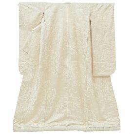 リサイクル 白無垢 単品 正絹 刺繍 リサイクル着物 花嫁衣裳 婚礼 結婚式 打掛 裄67cm L 身丈179cm M 白色系 turu