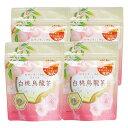 送料無料 ウーロン茶 ティーバッグ 白桃烏龍茶 2.5g×8P×4袋 凍頂烏龍茶 ティーパック フレーバー メチル化カテキン …