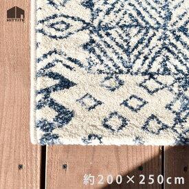 antik〈アンティック〉/約200×250cm/ラグ/カーペット/絨毯/ホットカーペットカバー対応/ベルギー製