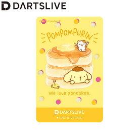 【予約商品 2020年7月15日発売予定】Sanrio characters DARTSLIVE CARD DARTSLIVEテーマ&LIVE EFFECT ポムポムプリン (ダーツ カード)