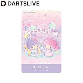 【予約商品 2020年7月15日発売予定】Sanrio characters DARTSLIVE CARD DARTSLIVEテーマ&LIVE EFFECT リトルツインスターズ (ダーツ カード)