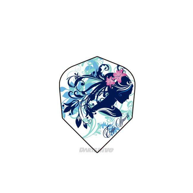 EDGE SPORTS/AIR FLIGHT <フラワーガール シェイプ >エアフライト Shape エッジスポーツ flower girl shape ソフトダーツ フライト ダーツフライト ダーツ 【あす楽】