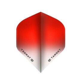 TARGET(ターゲット) VISION フライト(ビジョンフライト) スタンダード グラデーション レッド <331830> (ダーツ フライト ダーツ 羽 darts flight)
