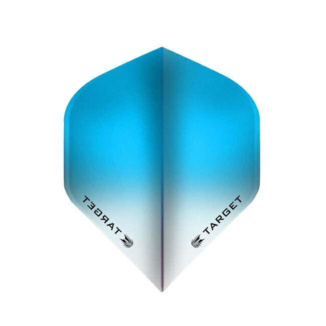TARGET(ターゲット) VISION フライト(ビジョンフライト) スタンダード グラデーション ライトブルー <331820> (ダーツ フライト)