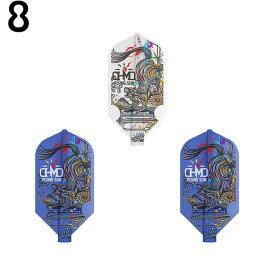8FLIGHT(エイトフライト) HARUKI MURAMATSU スリム MIX <400060> 村松治樹選手モデル (ダーツ フライト)