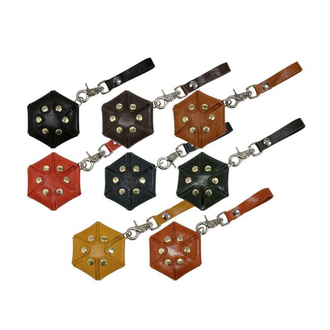 STEAL(スティール) ベルトループ式ヘキサゴン STD-HEXAGON (ダーツ アクセサリ)(ダーツケース 革 牛革 ダーツ ケース ダーツケース レザー darts case)