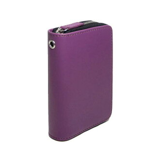 Minute Case < purple > mini-z case Purple Purple colorful DART case DARTSCASE large synthetic leather presents compact soft darts