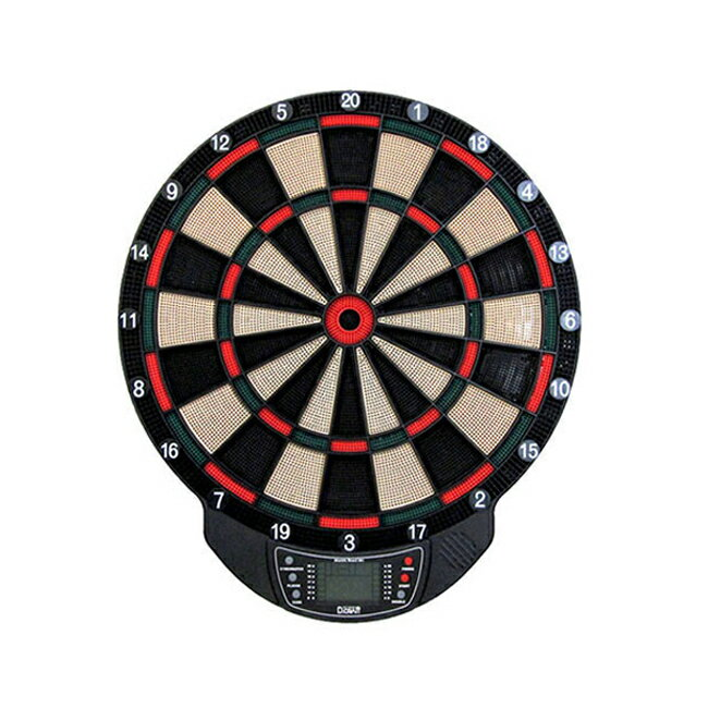 D.craft(ディークラフト) エレクトリックボード501 <グリーン/レッド> 【ソフトダーツ ダーツボード ソフトボード ソフト ダーツ ボード ソフトダーツボード darts】 【あす楽】