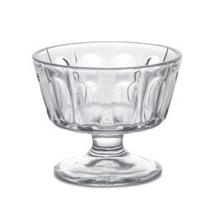 グラスカップ クリアグラス 食器 カップ コップ ガラス サンデーカップ 140cc レトロ アンティーク 食卓 ゼリー ヨーグルト アイスクリーム プリン パフェ カフェ デザートカップ インテリア