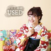 ★Hakama three points set (kimono / hakama / undergarment) for USED ★ proper adaptation height 150 - 163cm/ adult