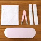 着付けのお供に!大人用ですが浴衣を着るなら一緒に買っておくと便利です*◆定番売れ筋◆【簡単♪ゆかた着付け小物5点セット】ワンピースタイプの肌着で楽チン♪
