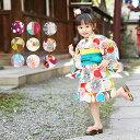 個性派キッズ浴衣ドレス!大正浪漫お嬢さん。【ひよこ商店 ◆はいからお嬢様。子供レトロモダン浴衣ドレス3点セット …