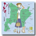 [送料無料]ノーマル特漉あぶらとり紙【北海道限定 北海道Map】大サイズ 1冊