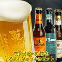 【名入れ】で「あす楽」【父の日 ギフト/父の日 ビール】プレゼント ビール 飲み比べビール ジョッキ 名入れと厳選ビール3本(330ml×3…