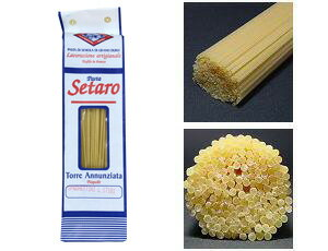 ■奇跡のパスタ setaro(セターロ)社  500g スパゲティーニ 1.6mm 一箱 【あす楽対応】「セタロ」セレブ御用達 【イタリア産】