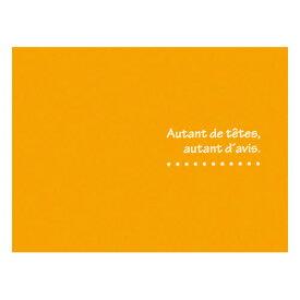 【1枚分お得な10枚セット】ハクバ HAKUBA 写真を差し込むだけでかわいいプレゼントに お手軽写真台紙ランス 写真サイズ:L 2面 ヨコ オレンジ 4977187810332