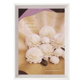 ハクバ HAKUBA フォトフレーム Cerca (セルカ) 2L ホワイト FCER-WT2L 4977187487060 木製 写真立て