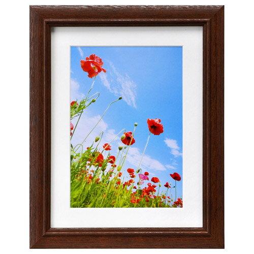 ハクバ HAKUBA フォトフレーム 写真立て 木製 FW-3 写真サイズ:2L ブラウン FW-3-BW2L 4977187496390