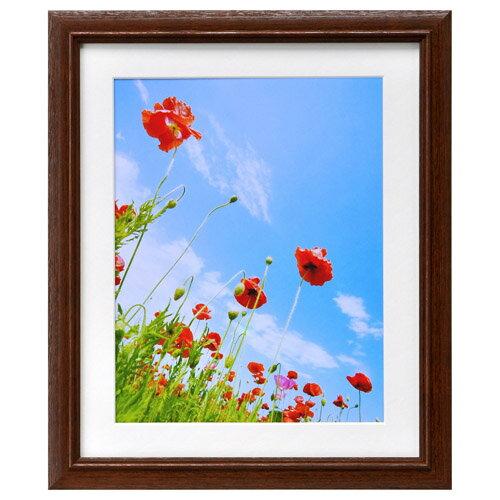 ハクバ HAKUBA フォトフレーム 写真立て 木製 FW-3 写真サイズ:6切(六つ切り) ブラウン FW-3-BW6 4977187496406