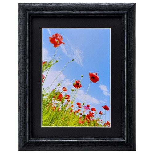 ハクバ HAKUBA フォトフレーム 写真立て 木製 FW-3 写真サイズ:2L ブラック FW-3-BK2L 4977187496475