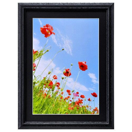 ハクバ HAKUBA フォトフレーム 写真立て 木製 FW-3 写真サイズ:A4 ブラック FW-3-BKA4 4977187496529