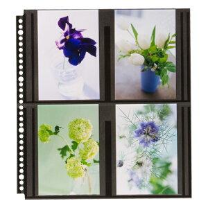 ハクバ HAKUBA フォトアルバム SF-6 プリントファイル 写真サイズ:ポストカード ブラック替台紙 4977187519235