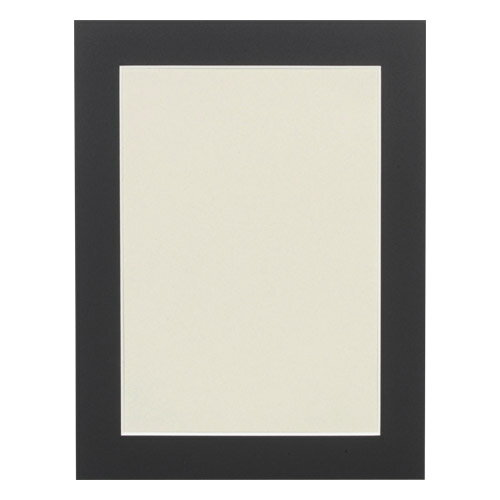 ハクバ HAKUBA フォトフレーム 額の中に奥行きを演出 フリーマット 写真サイズ:A4 ブラック MFM-A4BK 4977187658163