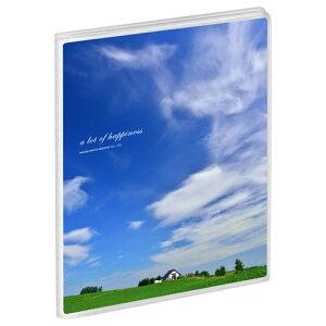 ハクバ Pポケットアルバム NP KG(ハガキ)サイズ 20枚収納 青空と家 APNP-KG20-AZI 4977187527568