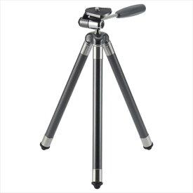 【送料無料】ハクバ 小型三脚 コンパクトC8N ガンメタリック H-C8N-GM 4977187106824 トラベル三脚 8段伸縮 スマホアダプター付き WEBカメラにも