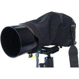 【アウトレット 訳あり特価】KANI カメラレインカバー AC-016M ブラック 一眼レフ用 ポリエステル製 雨合羽 防水 撥水 防塵 390691