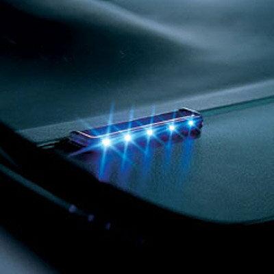 【ゆうパケット対応】ナイトシグナルフラットロングブルー 5LED【SQ87】カーメイト