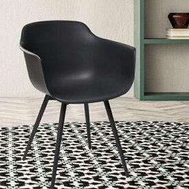 -ハバナチェア(アーム付き)PP樹脂(強化ポリプロピレン) オシャレ 椅子 ダイニングチェア シンプル ベーシック シンプル 送料無料 おしゃれ カフェ