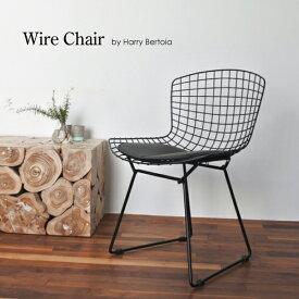 「800円割引 レビュークーポン」【ブラック】Wire Chair/ワイヤーチェア 送料無料 デザイナーズ 家具 イームズチェア ミーティングチェア 樹脂