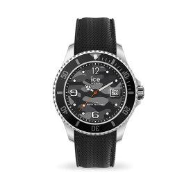 アイスウォッチ 腕時計 時計 メンズ ICE-WATCH ICE steel アイス スティール ブラック アーミー (エクストララージ )