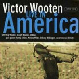 【送料無料】 Victor Wooten ビクターウッテン / Live In America 輸入盤 【CD】