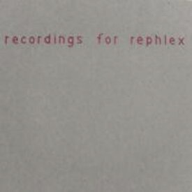 Hecker / Recordings For Rephlex 輸入盤 【CD】