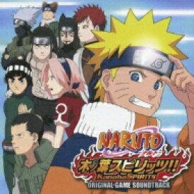 NARUTO-ナルト-木ノ葉スピリッツ オリジナル・ゲームサウンドトラック 【CD】