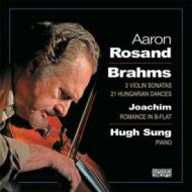 """Brahms ブラームス / """"ヴァイオリン・ソナタ第1, 2, 3番、ハンガリー舞曲全集、他 ローザンド(vn)サング(p)(2CD)"""" 輸入盤 【CD】"""