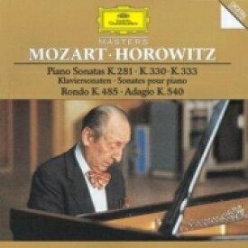 Mozart モーツァルト / ピアノ・ソナタ第3、10、13番 ホロヴィッツ 輸入盤 【CD】