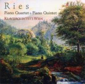 【送料無料】 Ries リース / リース:ピアノ四重奏曲&ピアノ五重奏曲/ウィーン・ピアノ五重奏団 【CD】