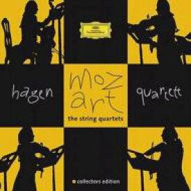【送料無料】 Mozart モーツァルト / 弦楽四重奏曲全集 ハーゲン四重奏団(7CD) 輸入盤 【CD】