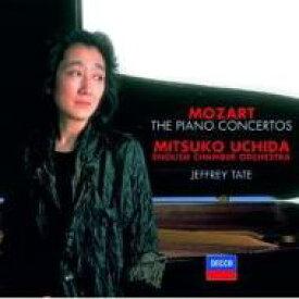 【送料無料】 Mozart モーツァルト / ピアノ協奏曲全集 内田光子(p)テイト&イギリス室内管(8CD) 輸入盤 【CD】