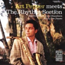 Art Pepper アートペッパー / Meets The Rhythm Section (アナログレコード / OJC) 【LP】